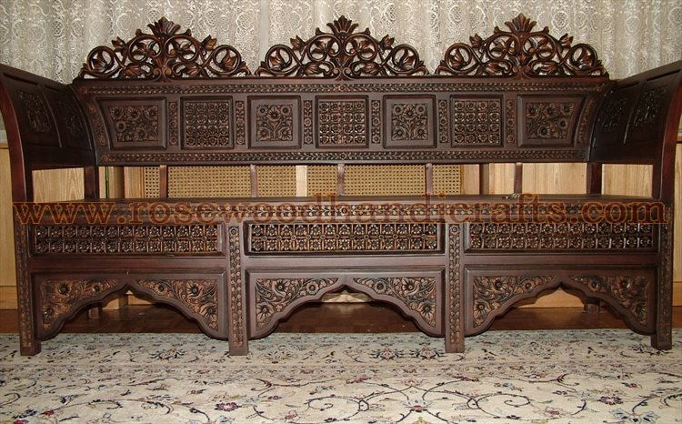 Antique Wooden Sofa ~ Antique sofa sets vintage set by planet decor