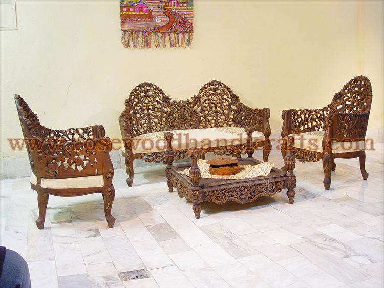 Wooden Antique Sofa Set