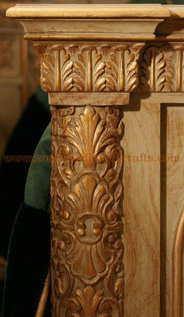 Wooden Carved Bed