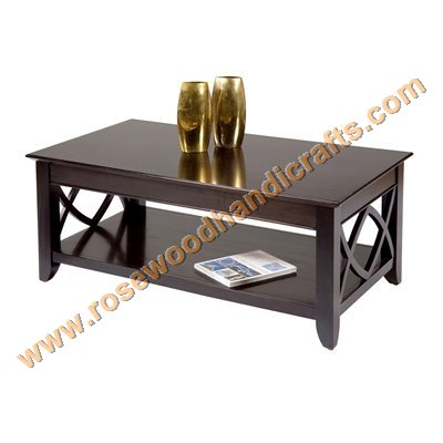 Wooden Coffee Table Side