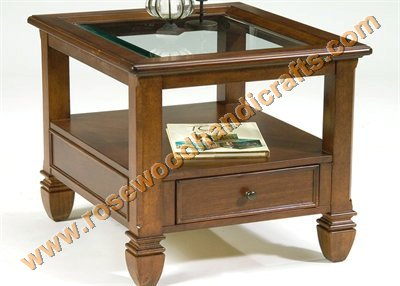 Rosewood Coffee Table Side