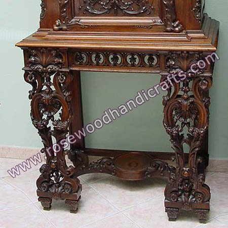 Wooden Full Carved Console