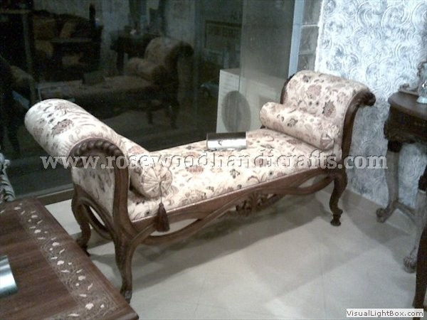 Rosewood long Couch