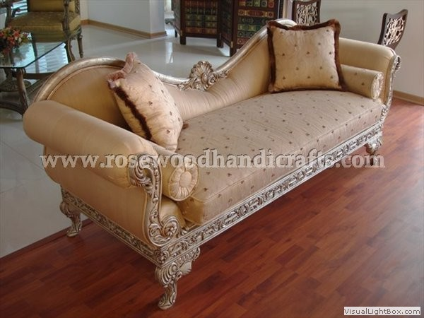 Rosewood Italian Couch