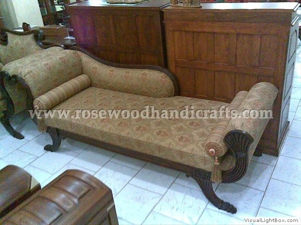 Carved Rosewood Couch
