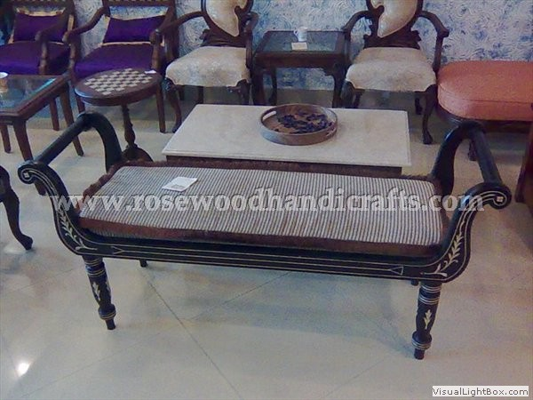 Rosewood Dewan With 2 Seater