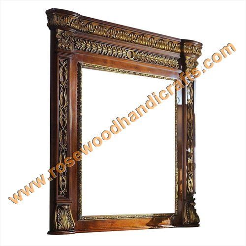 Wooden Carved Mirror Frame