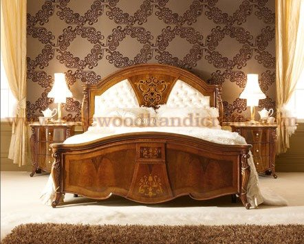 Wooden Quilting Bed