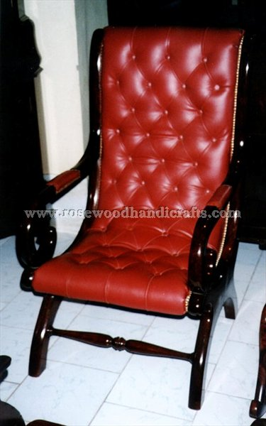 Relaxing Chair With Original Leather