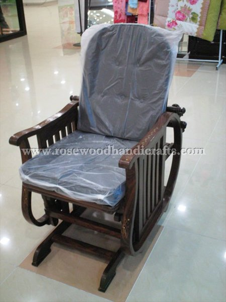 Swing Chair with Footrest