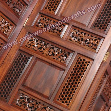 Wooden Screen Room Divider