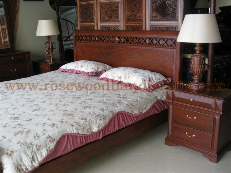 Wooden Slay Bed