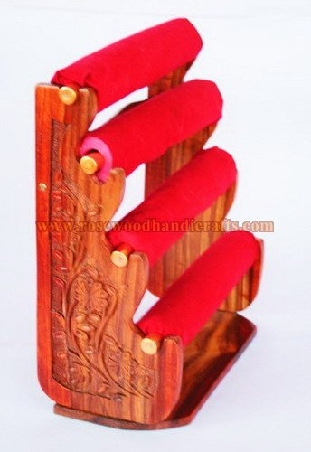 Wooden Bangles Stand