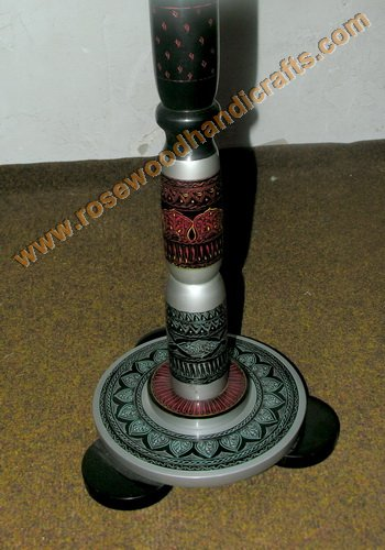 Wooden Lacquer Table Base