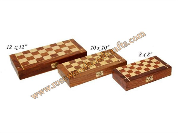 Wooden Chess Game Box