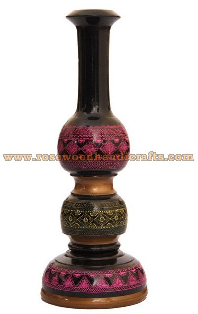 Wooden Lacquer Table Lamp