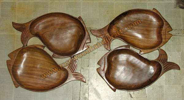 Small Fish Shape Dry Fruit Tray