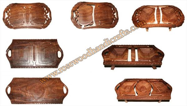Wooden Different Shape Dry Trays