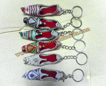Leather Shoes Shape Key Chains
